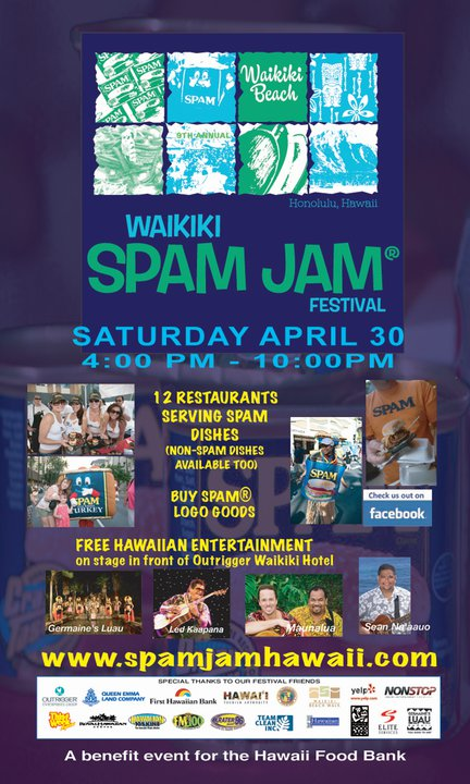 9th Annual Waikiki Spam Jam – April 30, 2011