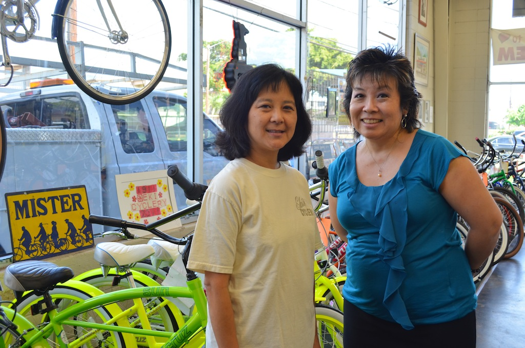 Hawaii: IRL – Melissa Chang Talks with Jayne Kim of Eki Cyclery About Her 100 Year Old Business (@melissa808)