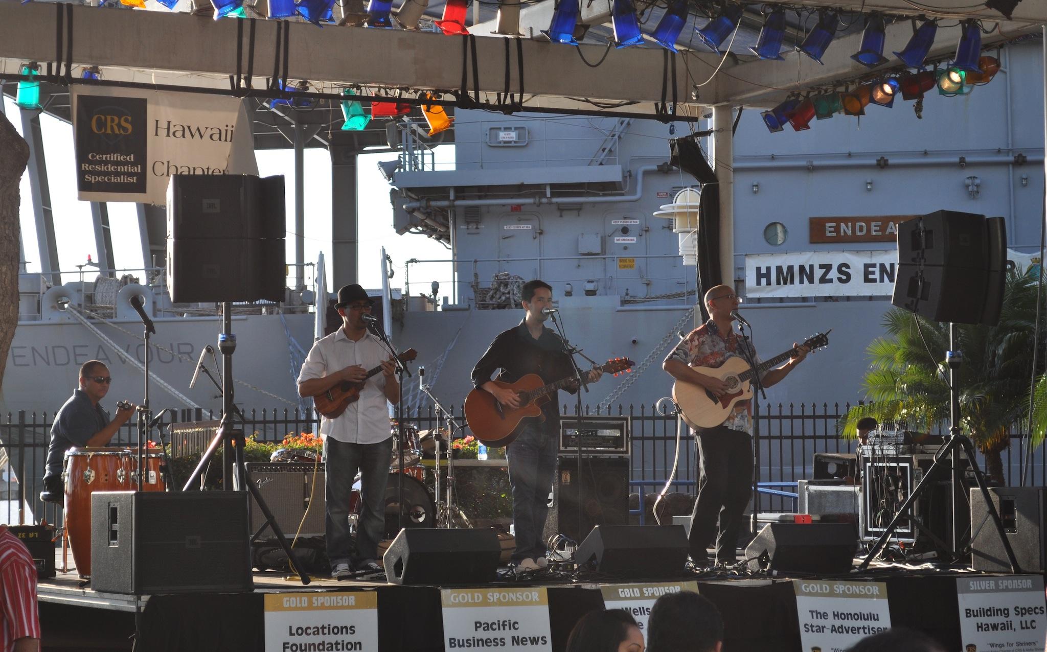 """Wings for Shriners"" Fundraising Event (@hanaialii @manoadna @jonyamasato)- Recorded on August 3, 2012"