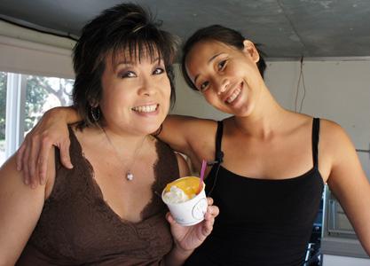 Hawaii: IRL – Melissa Chang visits with Melissa Bow of Via Gelato (@viagelato @melissa808)