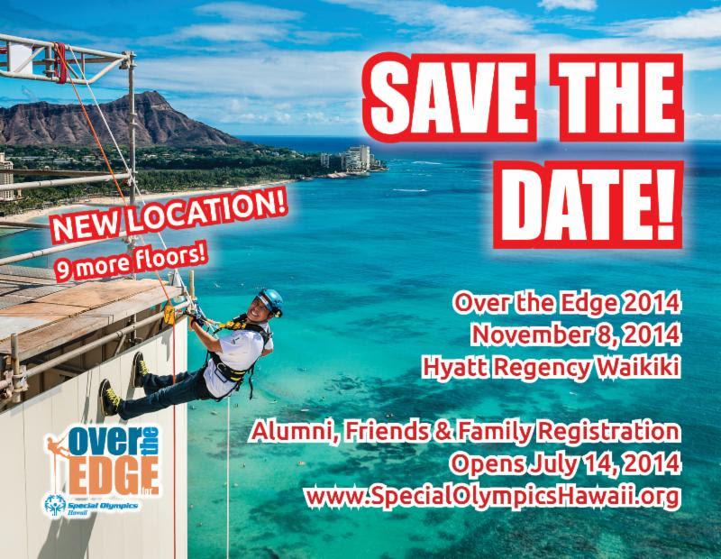 2014 Over the Edge for Special Olympics Hawaii Recorded Live on November 8, 2014 at the Hyatt Regency Waikiki (@sohawaii @hyattshawaii)
