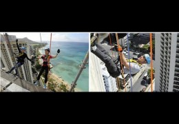 Special Olympics Hawaii Over the Edge on November 7, 2015 from 8:00am to 5:00pm HST at the Hyatt Regency Waikiki Beach Resort and Spa