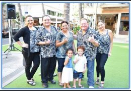 Recorded Live: Na Mele No Na Pua with Kapena at Waikiki Beach Walk on June 18th, 2017