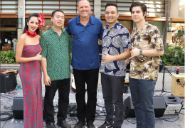 Recorded Live: Na Mele No Na Pua with Alx Kawakami at Waikiki Beach Walk on August 20, 2017