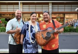 Recorded Live: Na Mele No Na Pua with Mark Yamanaka at Waikiki Beach Walk on 1/7/18