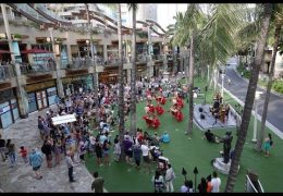 Recorded Live: Makalauna Celebration at Waikiki Beach Walk on May 26, 2018