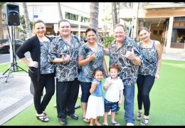 Recorded Live: Na Mele No Na Pua with Kapena at Waikiki Beach Walk on June 17, 2018