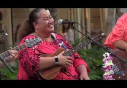 Recorded Live: Na Mele No Na Pua featuring Na Wai Ho'olulu Ke Anuenue at Waikiki Beach Walk from 5pm to 6pm HST on 9-23-18
