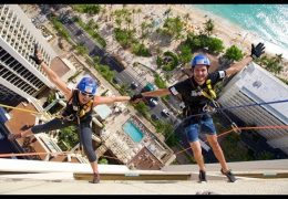 2018 Special Olympics Hawaii Over the Edge from the Hyatt Regency Hotel on October 27, 2018