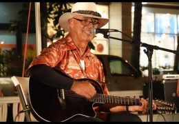 LIVE: Mele Hali'a featuring Mike Ka'awa at Waikiki Beach Walk on March 24, 2019 from 5:00pm to 6:00pm HST