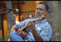 Recorded Live: Mele Hali'a at Waikiki Beach Walk featuring Del Beazley & Friends on February 24, 2019