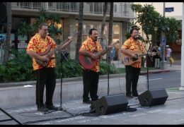 LIVE: Mele Hali'a at Waikiki Beach Walk featuring The Makaha Sons on April 14, 2019 from 5:00pm to 6:00pm HST